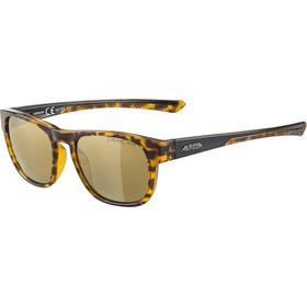 Alpina Lino II Glasses, havanna/gold mirror